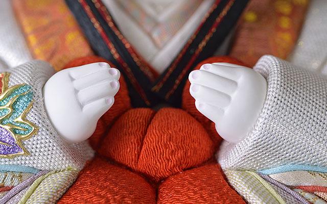 爪彩色の自然な手