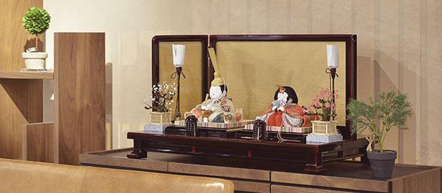 石川潤平のひな人形