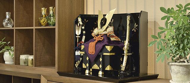 京甲冑の写真